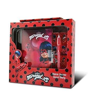 Kids Ladybug Diario con Tinta Secreta, 23 x 22 cm (LY17097): Amazon.es: Juguetes y juegos
