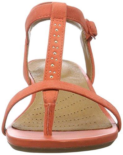 Suede Coral Blanc Parram Clarks Orange Slingback Damen SaY7wF