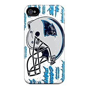Shock Absorbent Hard Cell-phone Case For Iphone 6 (FBW19390TevB) Custom Lifelike Carolina Panthers Pictures