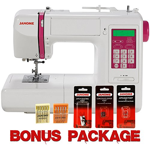 UPC 713382038515, Janome DC5100 Computerized Sewing Machine Package