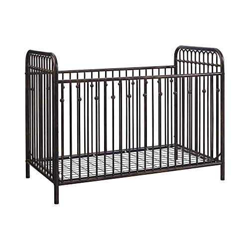 1 Iron Crib - Little Seeds Monarch Hill Ivy Metal Crib, Bronze
