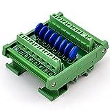 Chunzehui DIN Rail Mount 60V SIOV Metal Oxide Varistor Interface Module, 8 Channels Individual.