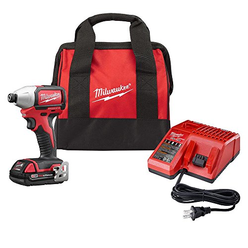Cheap Milwaukee 2750-21P M18 18-Volt Compact Brushless 1/4″ Hex Impact Driver Kit