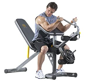 Amazon.com : Gold's Gym XRS 20 Olympic Bench : Weight Benches : Sports