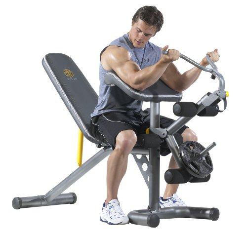 (Gold's Gym XRS 20 Olympic Bench)
