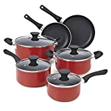 Cook N Home NC-00399 10-Piece Nonstick Cookware Set Review and Comparison