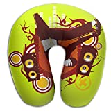 Neck Pillow With Resilient Material Hip-Hop And Street Dance U Type Travel Pillow Super Soft Cervical Pillow