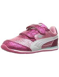 PUMA Kids Steeple Glitz Glam V Inf Sneaker