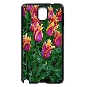 Unique Design -ZE-MIN PHONE CASE- For Samsung Galaxy NOTE3 Case Cover -Beautiful Holland Tulip Flower-CUSTOM-DESIGH 7