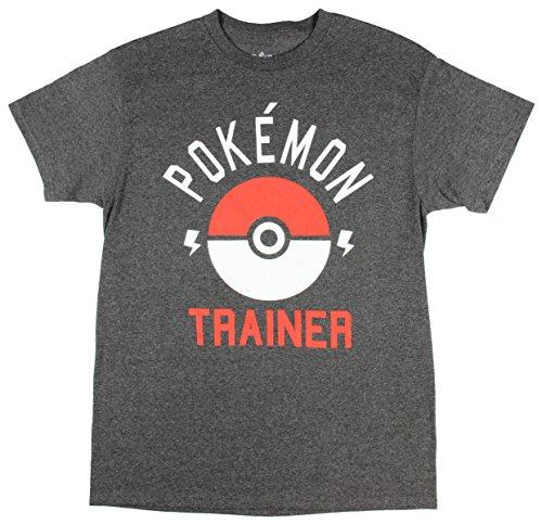 eac97ca8 Pokemon Trainer Pokeball Mens Tee Shirt (XX-Large) - Import It All