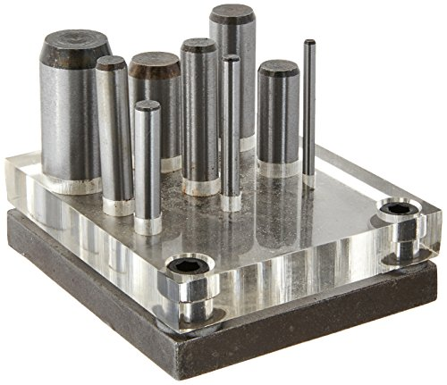 Gino Development 02-0444 TruePower Punch & Die Set (9 Piece)