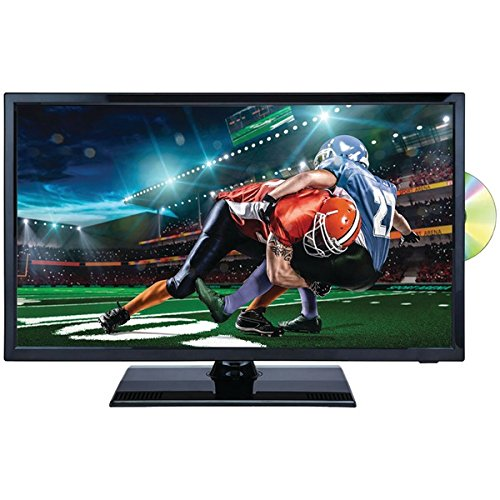 NAXA NTD-2255 22″ 1080p LED TV/DVD/Media Player Combination with Car Package