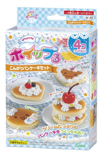 Whipple W-49 Kongari Pancake Set Japanese Sample/replica Food Making Kits
