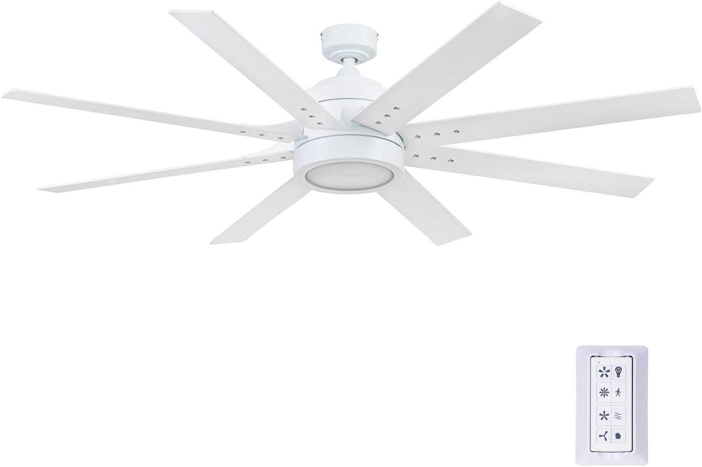 62 Matte Black Honeywell Ceiling Fans 51473-01 Xerxes Ceiling Fan