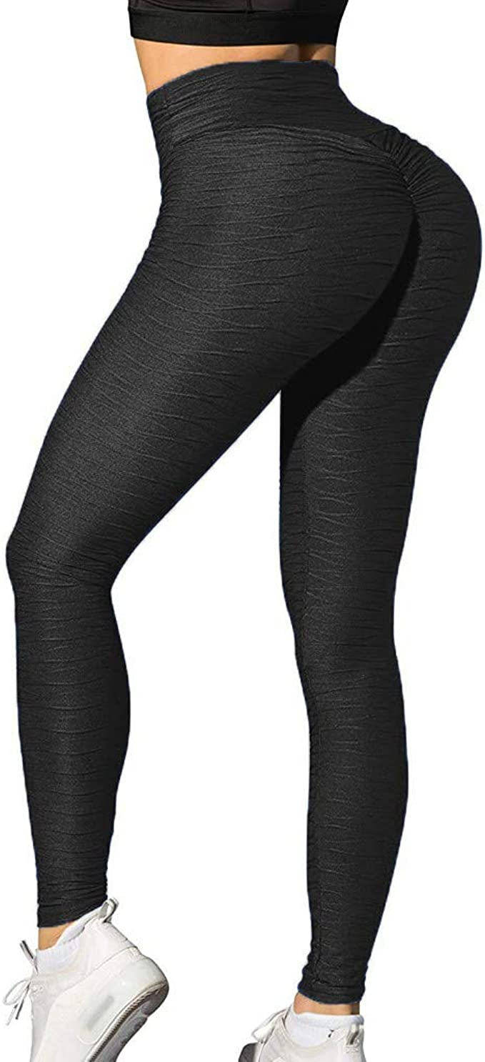 Yoga Pants For Women Tall Booty Yoga Pants Women High Waisted Ruched Butt Lift Tummy Control 4 Way Stretch Leggings At Amazon Women S Clothing Store