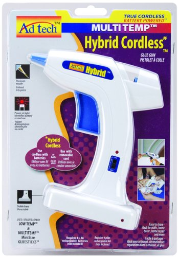 Multi-Temp Hybrid Cordless Glue Gun-White 1 pcs sku# 655700MA by WMU