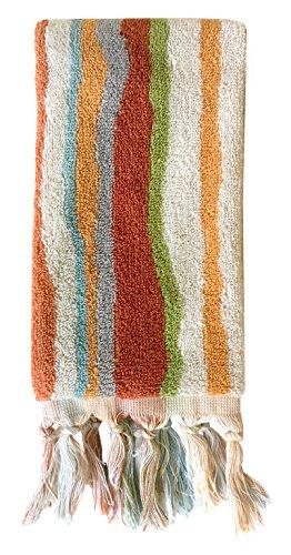 Dena Kaiya Trellis Stripe Fingertip Towel