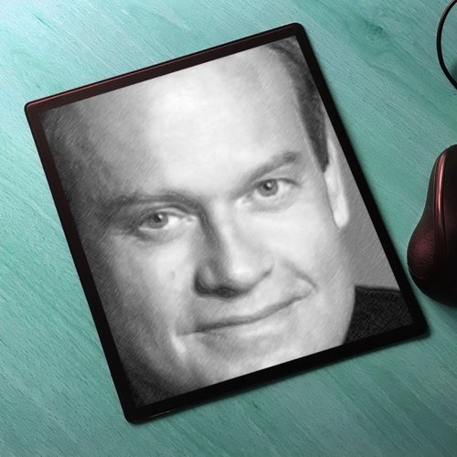 Seasons Kelsey Grammer - Original Art Mouse Mat #js001