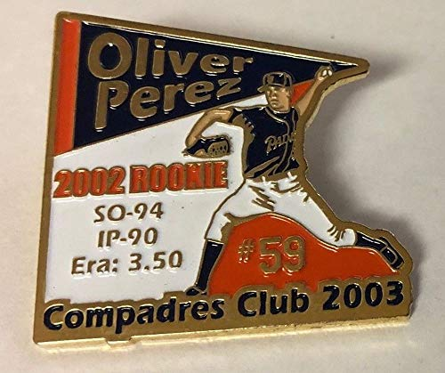 2003 San Diego Padres Oliver Perez Compadres Club Pin