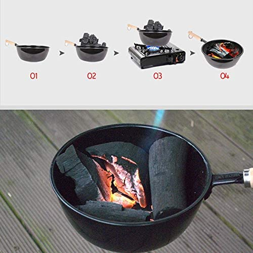 Yantai Pots de charbon pour barbecue en plein air