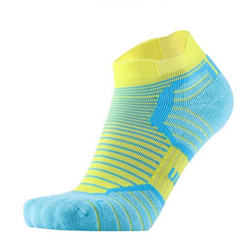 Blister Resist Cushion No Show Running Socks for Men and Women Moisture Wicking ()