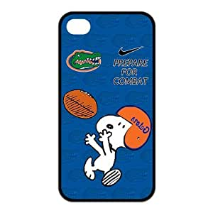 NCAA Florida Gators iPhone 4/4s Funny Snoopy Nike Logo Silicon Case Cover at NewOne