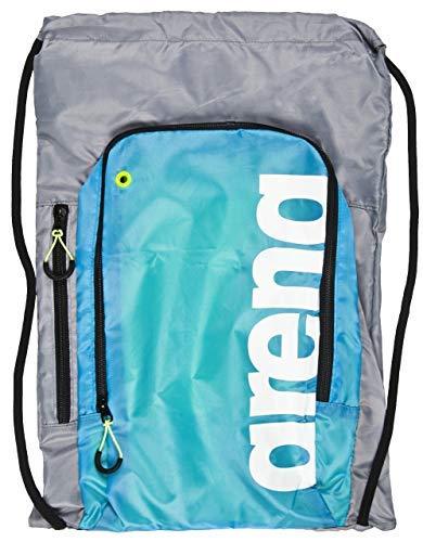 Arena Fast Sack Swim Drawstring Backpack, Red/White/Blue