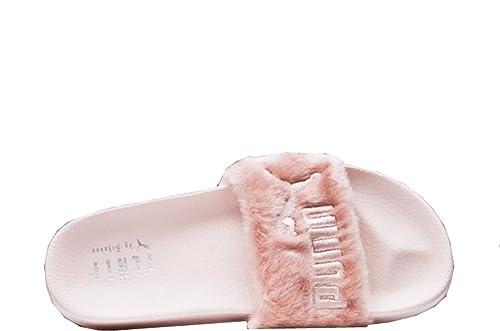 Fenty Puma X Rihanna Leadcat Fur Slide Women s Sandals (7.5 B(M) US ... 88b6a7a66