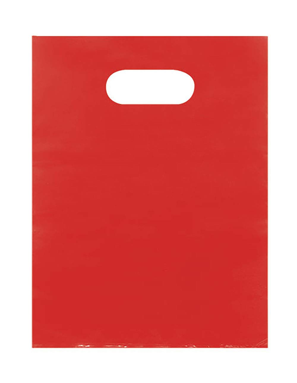 Red Merchandise Bags - Lightweight (9x12) - Pack of 1,000