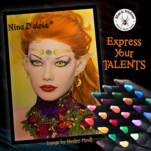 Black Widow Colored Pencils For Adults - 24 Coloring Pencils With Smooth  Pigments - Best Color Pencil Set For Adult Coloring Books And Drawing  Pricepulse