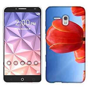 for Alcatel One Touch Fierce XL Tulip Phone Cover Case