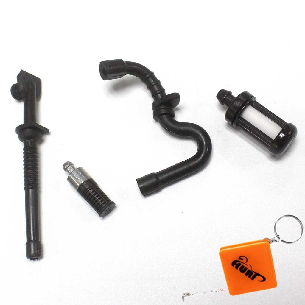 Benzinschlauch mit Filter passend Motorsäge Stihl 018