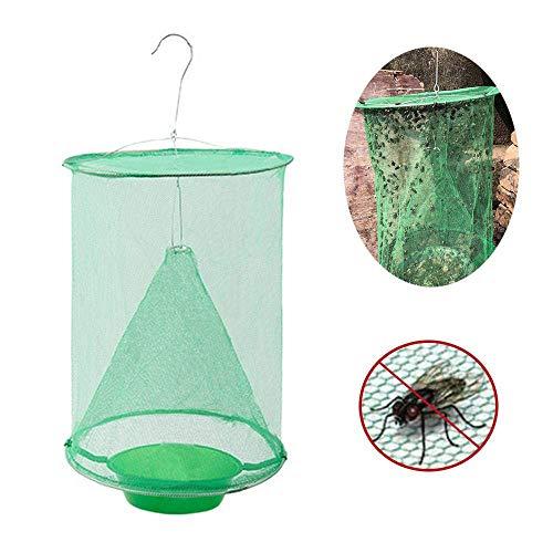 Huahua Hanging Pigliamosche,Antizanzare Flycatcher con Bait Flay,Pieghevole Riutilizzabile,Insect Bug Killer Fly Catcher,per Interni O Esterni, E Animali da Fattoria, Parchi, Ristoranti