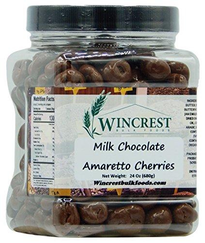 Milk Chocolate Amaretto Cherries - 1.5 Lb ()