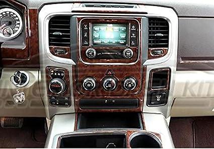 Phenomenal Dodge Ram 1500 2500 3500 Interior Wood Dash Trim Kit Set 2016 2017 2018 Home Interior And Landscaping Fragforummapetitesourisinfo