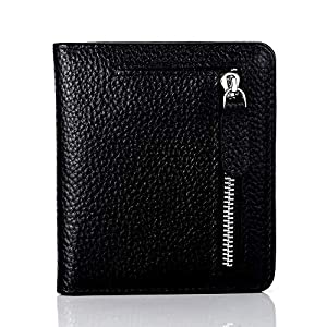 FUNTOR Leather Wallet for women, Ladies Small Compact Bifold Pocket RFID Blocking Wallet for Women
