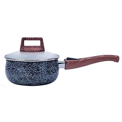 Woks Ollas para Pasta Olla de la Sopa Olla de la Leche Caliente del hogar Piedra