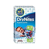 Best NUK Gifts For Baby Boys - Huggies 4-7 years DryNites For Boys 10 per Review