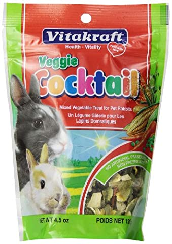 Vitakraft Rabbit Vegetable Cocktail Treat, 4.5 Ounce Pouch - Creek Cocktail