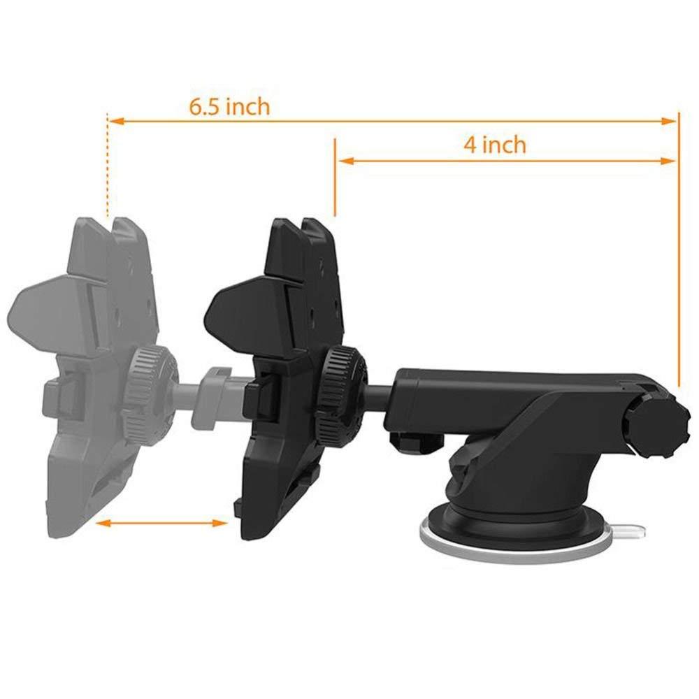 Amazon.com: Car Windshield Mount Holder Stand Bracket for Cell Phone iPhone GPS Devices Navigation Soporte para Celulares Coche: GPS & Navigation