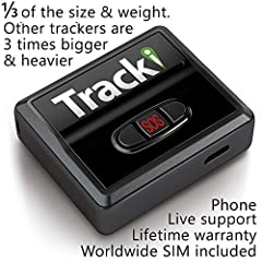 With Tracki device easily track people, cars, assets in real time. Tracki's location is accessible on browser, Android or iPhone apps. With GPS/GSM/Wi-Fi/Bluetooth tracking accurately locate anything within 50 ft. Will cost a monthly fee of 1...