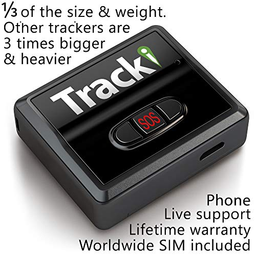 Tracki 2020 Model Mini Real time GPS Tracker. Full USA & Worldwide Coverage. For Vehicles