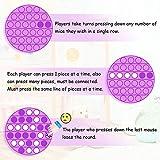 Push Pop Bubble Fidget Sensory Toy Silicone Stress