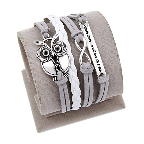 Barry picks Engrave Epigram Charm Leather Bracelet Various Style Butterfly & LOVE & Anchor Charms Wholesale Jewelry,09