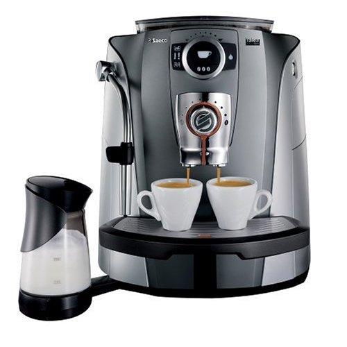 Saeco Talea Giro de/Espresso Cafetera automática Plata ...
