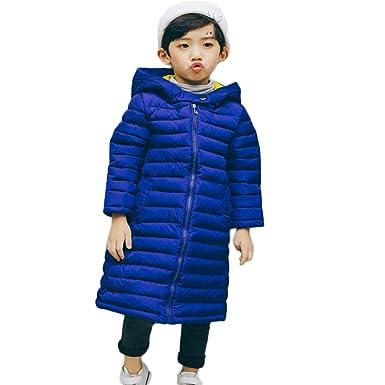 K-Youth Niñas Niños Abrigo de Algodón Invierno Grueso Abajo Chaqueta con Capucha Larga Trenca Jacket Ropa Bebe Niño Abrigo para Niñas Abrigo Bebe Niña Otoño ...