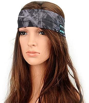 Cintas para la cabeza Diadema inalámbrica Bluetooth, Yoga ...