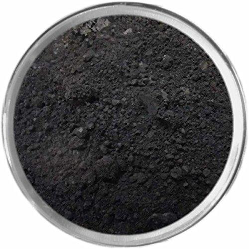 Black Loose Powder Mineral Matte Multi Use Eyes Face Color M