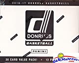 2016/2017 Panini Donruss NBA Basketball EXCLUSIVE ENORMOUS Factory Sealed FAT PACK Box with 360 Cards! Look for Rookies & Autographs of Brandon Ingram,Ben Simmons,Dario Saric,Kris Dunn & More! Wowzzer