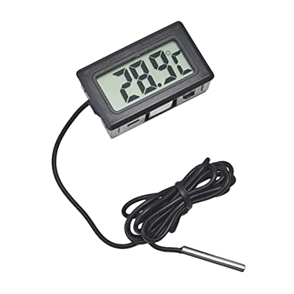 Digital Temperature Meter with Remote Temp Sensor Thermometer for Fridges Freezers